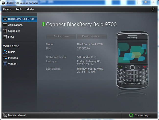 Blackberry Z30 Desktop Software For Mac