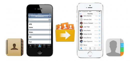 Transfer contacts from iPhone to iPhone
